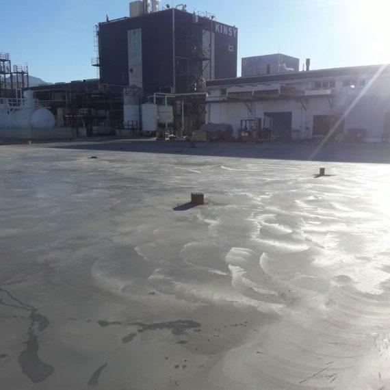 Hormigón Fratasado en Alhama Murcia para nave Grupo Paimvi