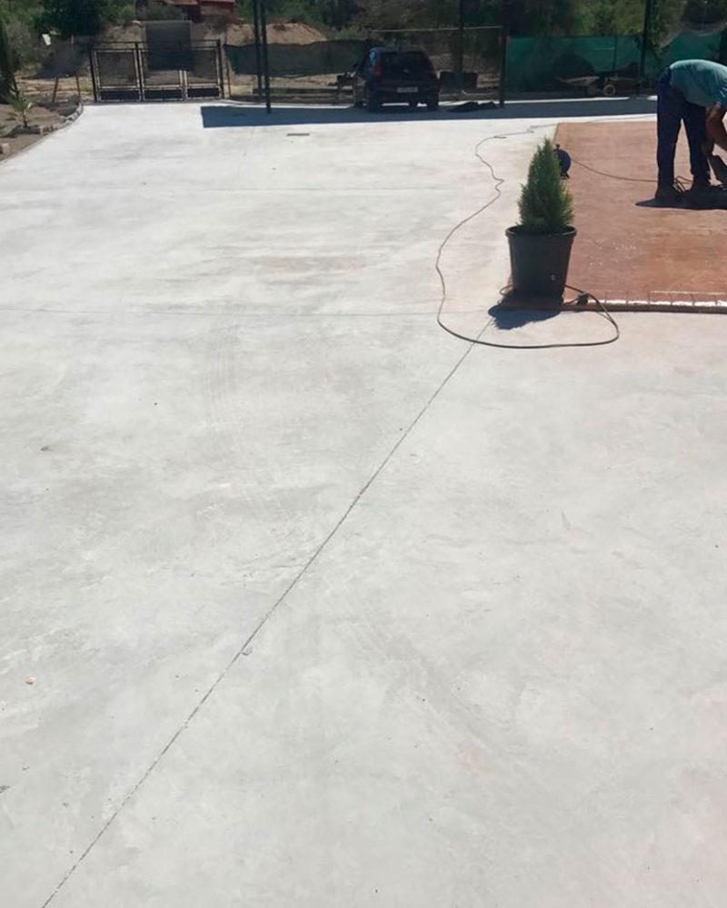 Hormigón fratasado de calidad en Alicante Grupo Paimvi