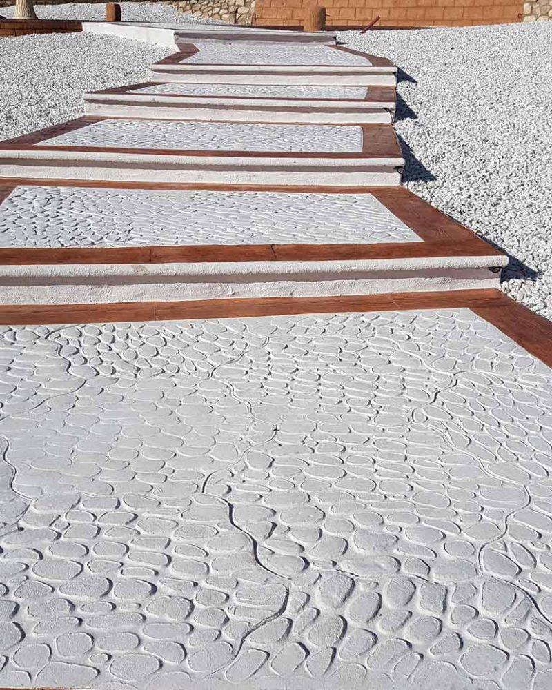 Hormigón impreso de calidad en Alicante Grupo Paimvi