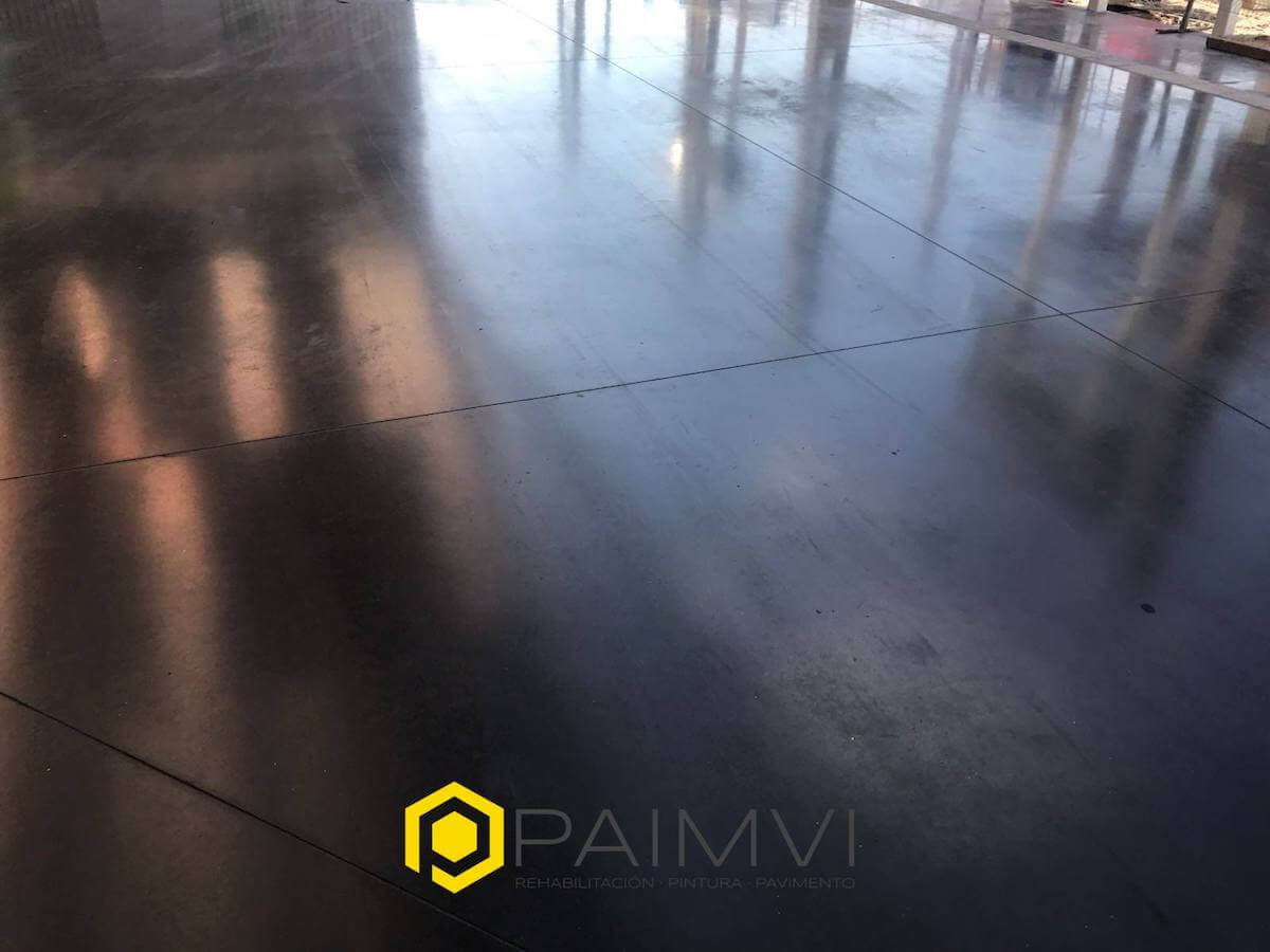 Hormigón vitrificado Alicante Grupo Paimvi