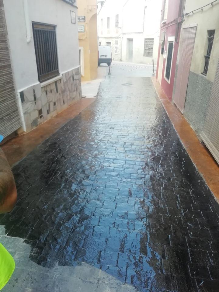 Renovación pavimentado de calle