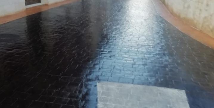 Renovación pavimentado calle